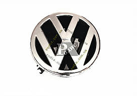 Эмблема Volkswagen Polo передняя на защелках (d-95мм, s(толщина)-22мм) - Значок с логотипом Фольксваген