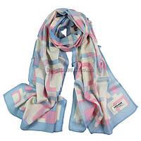 Женский легкий шарф цветной шерсть | 1207
