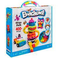 Игрушка Bunchems (Банчемс) 400 шт. мягкий пушистый шарик репейник конструктор-липучка игрушка