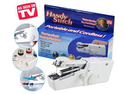 Швейная машинка ручная Handy stitch качество