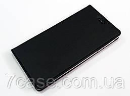 Чехол книжка KiwiS для Nokia 3 черный