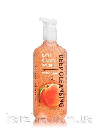 Увлажняющее мыло Bath and Body Works Персик Беллини