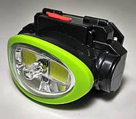 Налобный тактический фонарик с лазером BL-0520 COB