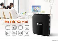 Смарт ТВ Приставка Tanix TX3 Mini 2/16 ГБ, S905W, Smart TV Box