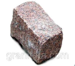 Брусчатка 20х10х10 колотая (красная), фото 2