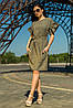 Платье Лион хаки
