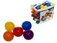Мячики 6цветов,3+ лет,в сумке диаметр-8см (Мячики 49600 (6уп)
