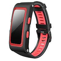 """Фитнес-браслет SUNROZ T28 Bluetooth Smart фитнес-трекер, 0,96"""""""" 220 mAh IP67 Черно-Красный (SUN0939), фото 1"""