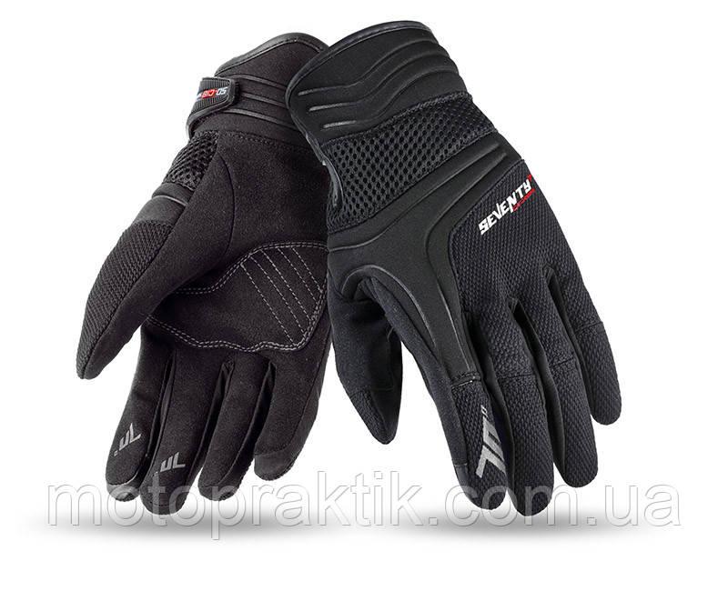 Seventy SD-C18 Summer Glove Urban Man Black/Grey, S Мотоперчатки летние
