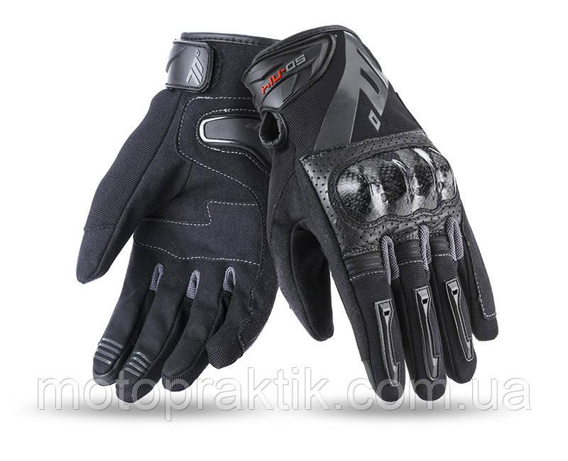 Seventy SD-N14 Summer Glove Naked Man Black/Grey, S Мотоперчатки літні