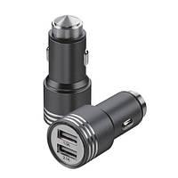 Автомобильная USB зарядка от прикуривателя 12v CAR USB hammer 0068 YZS-A-01