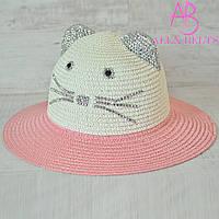 Детская шляпа «Кошечка»     р. 52-54, фото 1