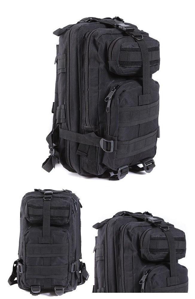 Рюкзак военный тактический штурмовой Molle Assault 20L Black