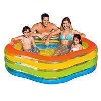 Intex 56495 Надувной бассейн (185х180х53), фото 1