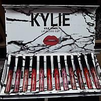 Помада Kylie White в коробке 12 штук