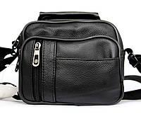 Шкіряна компактна чоловіча сумка через плече (5061) 53a297a4452b9
