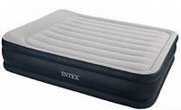 Intex 64140, Надувная кровать со встроенным электронасосом 203х152х51 см, фото 1