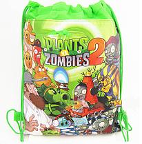 Подарок при покупке 4-х мягких игрушек растения против зомби