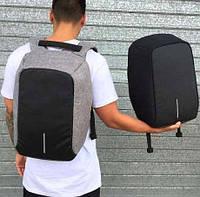 """Городской рюкзак Bobby антивор 15,6"""" с системой usb-зарядки xd design (бобби умный рюкзак для ноутбук) Реплика"""