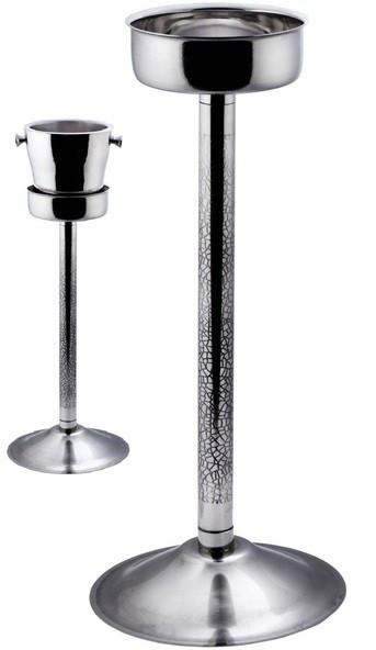 """Подставка {стойка} """"Ethching"""" нержавеющая под ведро для шампанского H 630 мм (шт)"""