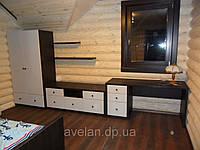 Комплект детской мебели на заказ из ДСП, фото 1