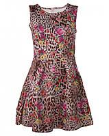 Леопардовое платье от Yes! Miss в размере S