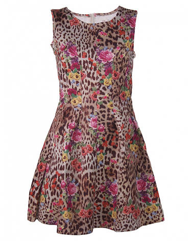 Леопардовое платье от Yes! Miss в размере S, фото 2