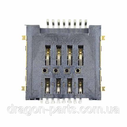 Роз'єм сім-карти (конектор) Nomi Corsa 3 LTE C070030, оригінал, фото 2