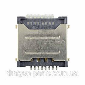 Разъем сим карты (коннектор) Nomi Corsa 3 LTE C070030, оригинал