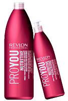 Revlon Professional PROYOU NUTRITIVE шампунь для волос увлажняющий и Питательный 1000 мл