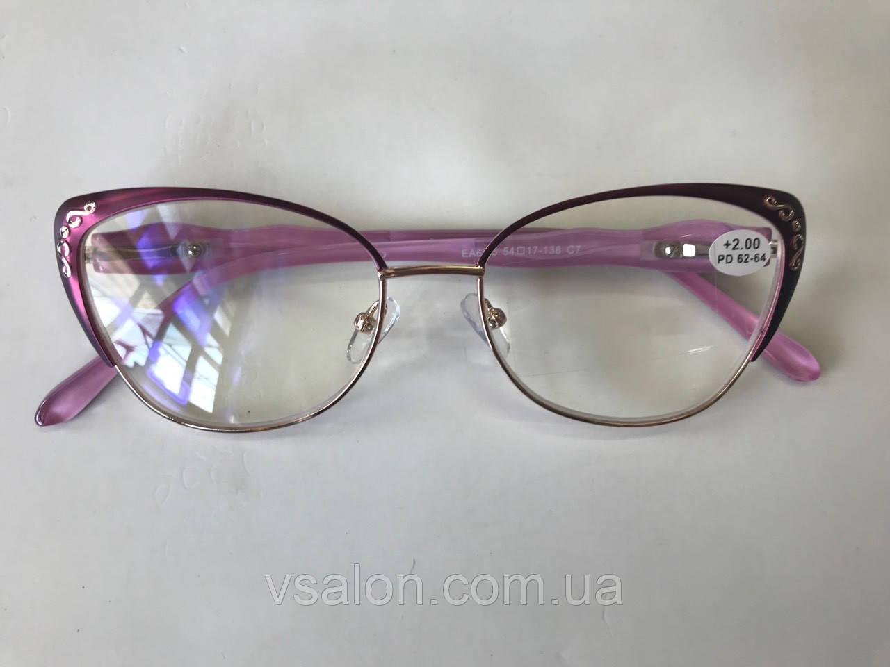 Жіночі комп'ютерні окуляри для зору 6815