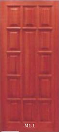 Двери модель М1 из массива сосны
