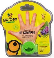 Браслет от комаров с 3 сменными картриджами Gardex Baby