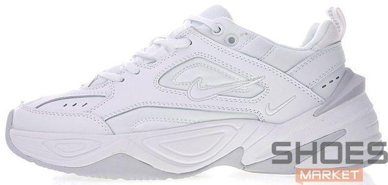 232d8045 Женские кроссовки Nike M2K Tekno White/Grey - Интернет-магазин обуви и  одежды в