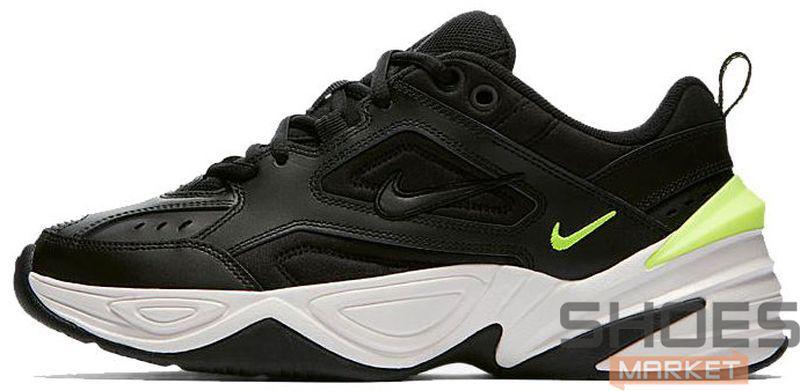 5a874c08 Женские Кроссовки Nike M2K Tekno 'Black/Volt' — в Категории ...