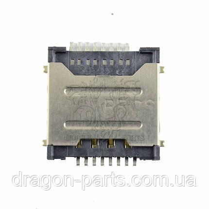 Разъем сим карты (коннектор) Nomi Libra 3 C080012, оригинал, фото 2