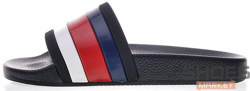 Мужские тапочки Gucci Rubber slide sandals 308234GIB10, тапочки Гуччи
