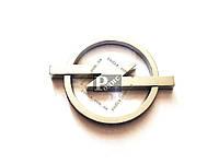 Эмблема Opel на двухстороннем скотче (d - 70мм, l(длина) - 90мм) - Значок с логотипом Опель