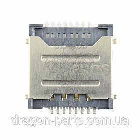 Разъем сим карты (коннектор) Nomi Ultra 3 LTE Pro C101040, оригинал