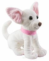Маленькая мягкая игрушка Собачка Чихуахуа белый