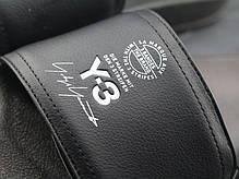 Женские тапочки Adidas Y-3 Adilette Core Black / Ftwr White / Core Black AC7525 , Адидас У-3, фото 2