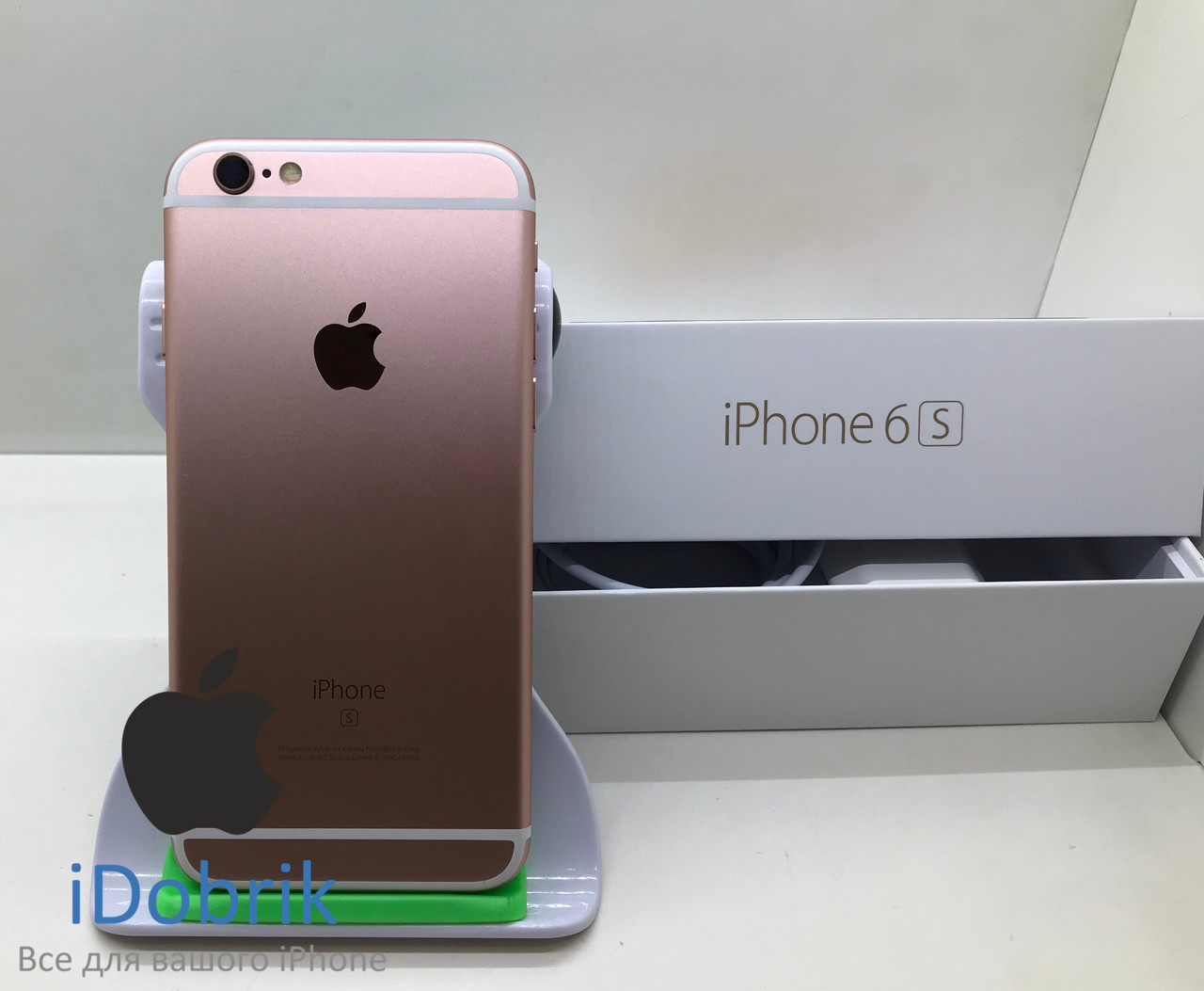 Телефон Apple iPhone 6s 16gb Rose Gold  Neverlock 10/10