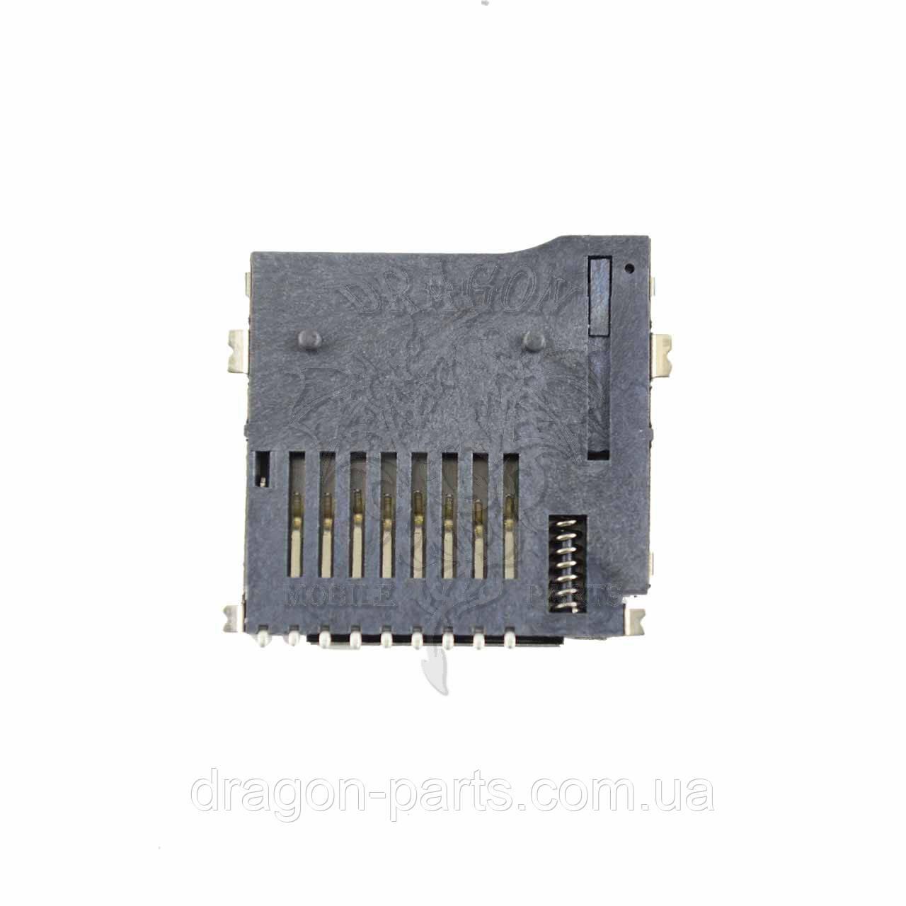Разъем карты памяти (коннектор) Nomi Corsa 3 C070012, оригинал