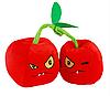 Мягкая плюшевая игрушка Растения против зомби Вишни из игры Plants vs Zombies