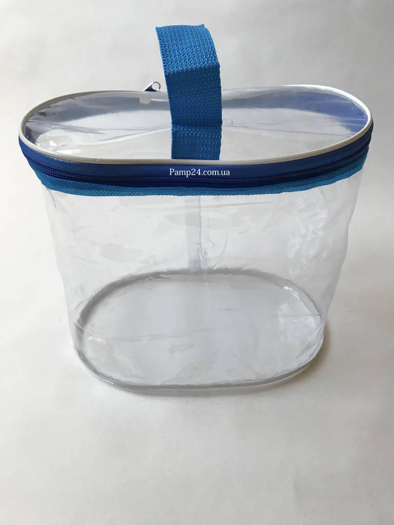 Косметичка Органайзер Мини - 24,5*22,5*16см - Синяя