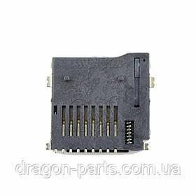 Разъем карты памяти (коннектор) Nomi Libra 3 C080012, оригинал