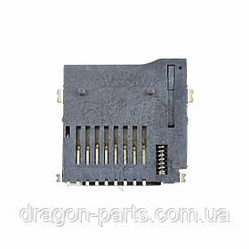 Разъем карты памяти (коннектор) Nomi Ultra 3 C101012, оригинал