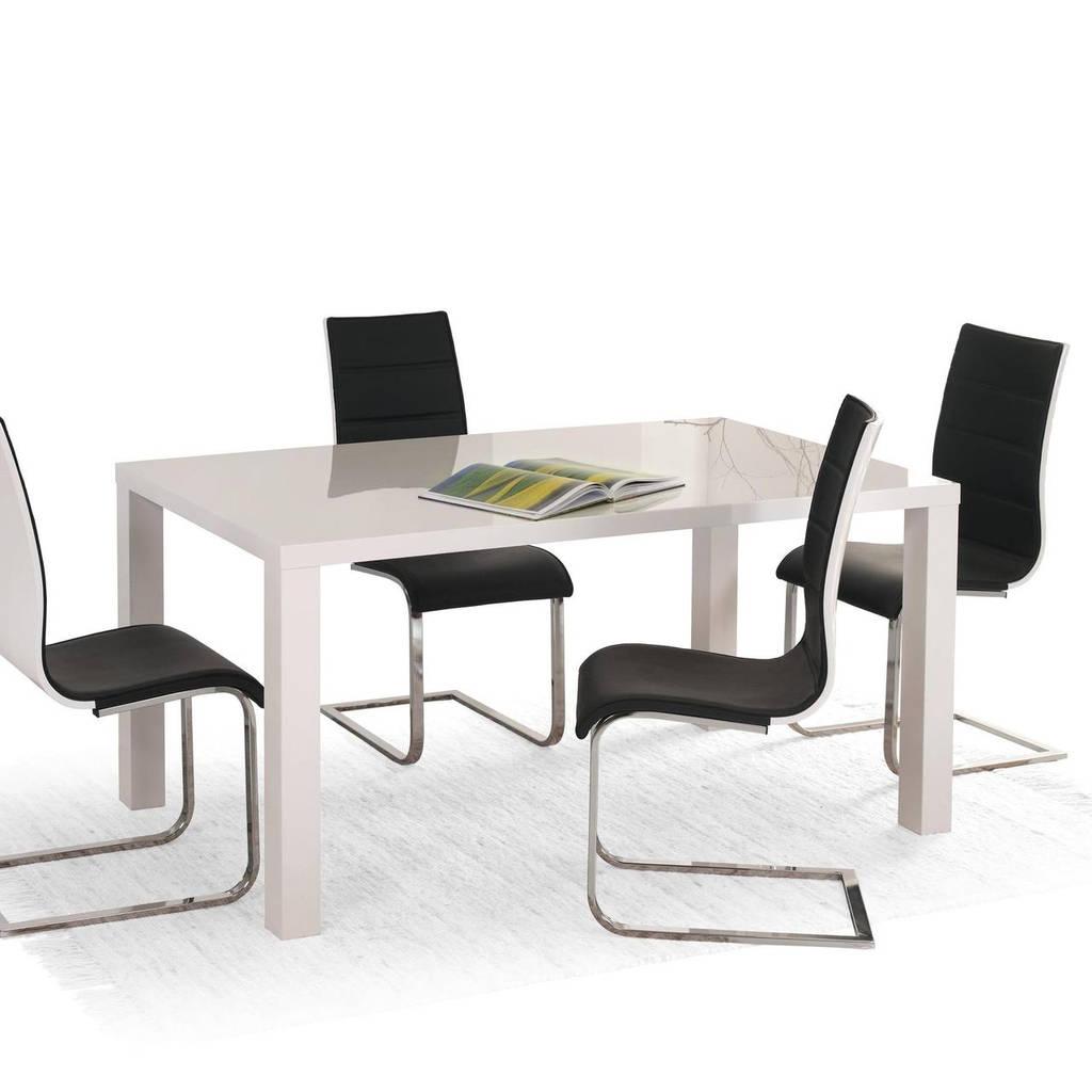 Стол обеденный деревянный RONALD 140-180 Halmar белый