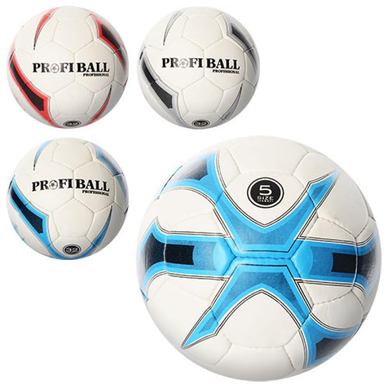 Мяч футбольный 2500-7ABC, размер 5, ПУ 1,4мм, 4 слоя, 32 панели, 410 ... 1af7b184dde