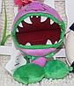 Мягкая плюшевая игрушка Растения против зомби Чомпер из игры Plants vs Zombies